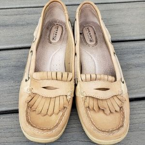 Sperry loafer boat shoes